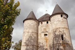chateaudes-tourelles Royaltyfria Bilder