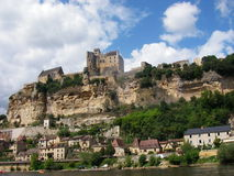 chateaudordogne france Royaltyfri Bild