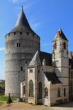 Chateaudun castle royalty free stock images