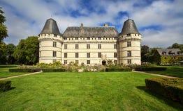 Chateauen de l'Islette, Frankrike Arkivfoton