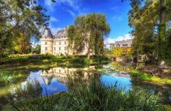 Chateauen de l'Islette, Frankrike Arkivfoto