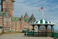 chateaufrontenac Royaltyfri Bild