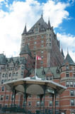 ChateauFrontenac hotell Arkivfoto