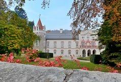 Chateauhotell Heralec Fotografering för Bildbyråer
