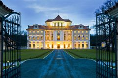 chateauhotellliblice Arkivbilder