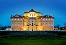 chateauhotellliblice Arkivfoto