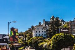 ChateauMarmont hotell fotografering för bildbyråer