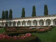 chateauträdgård Arkivbilder