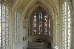 Chateauu在巴黎,法国附近的de Vincennes教堂  图库摄影