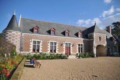 chateauu De Jallanges 免版税图库摄影