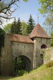 chateauu de Lucens 免版税图库摄影