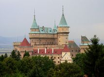 Chateaux of Bojnice Royalty Free Stock Images