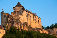 Chateau Castlenaud Dordogne Perigord Noir France Royalty Free Stock Image