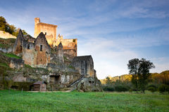Chateaux Commarque Royalty Free Stock Images