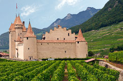 Chateaux dAigle, Switzerland Royalty Free Stock Photography