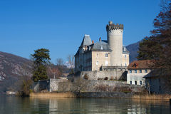 Chateaux de Duingt in Annecy Royalty Free Stock Photo