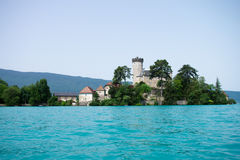 Chateaux de Duingt in Annecy Royalty Free Stock Images
