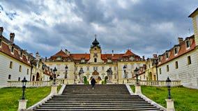 Chateaux de Lednice Valtice Imágenes de archivo libres de regalías