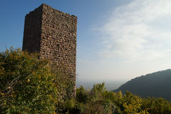 Chateaux, l'Alsazia Fotografia Stock