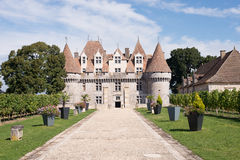 Chateaux Monbazillac Royalty Free Stock Images