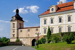 Chateaux in Rychnov nad Kneznou Stock Photography