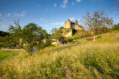 Chateaux of Salingnac Stock Photos