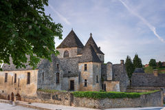Chateaux at St Genies Royalty Free Stock Photography