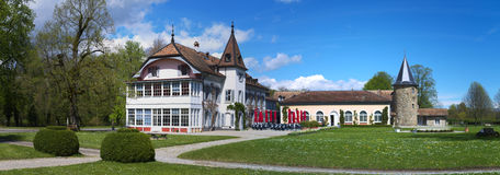 Chateaux in Switzerland Stock Images