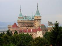 Chateaux van Bojnice Royalty-vrije Stock Afbeeldingen