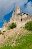 Chateauxde La haalt uit gezicht van muren verticaal zijaanzicht bij C aan royalty-vrije stock afbeelding