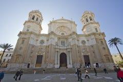 Chatedral à Cadix, Espagne Image libre de droits