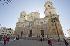 Chatedral in Cadiz, Spain Stock Photo