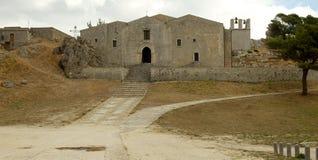 Chatedral Caltabellotta Στοκ φωτογραφία με δικαίωμα ελεύθερης χρήσης