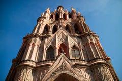 Chatedral dans San Miguel Photos stock
