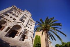 Chatedral en Monte Carlo Foto de archivo