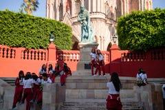 Chatedral en San Miguel Foto de archivo libre de regalías