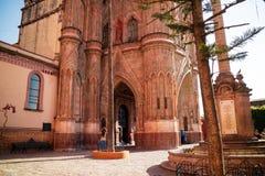 Chatedral en San Miguel Fotografía de archivo libre de regalías