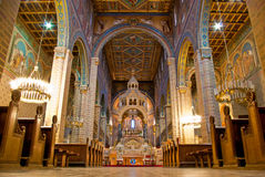 Chatedral inside stock images