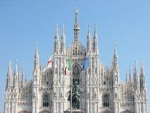chatedral Milan zdjęcia stock