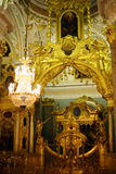 Chatedral in Peter and Paul fortress Royalty Free Stock Photos