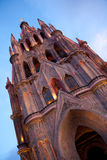 Chatedral in San Miguel Stock Photography