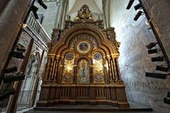 Chatedrale St Pierre av Beauvais - inre 04 Arkivbild