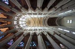 Chatedrale St Pierre av Beauvais - inre 17 Arkivbilder