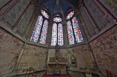 Chatedrale St Pierre di Beauvais - interno 02 Fotografie Stock Libere da Diritti