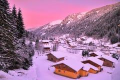 Chatel rosa Immagine Stock Libera da Diritti