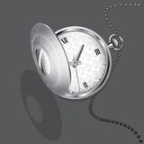 Chatelaine watch Royalty Free Stock Photos