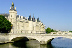 The Chatelet in Paris Stock Images