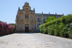 Chaterhouse of Jerez de la Frontera Royalty Free Stock Photos