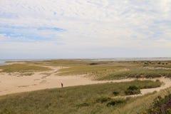 Chatham, пляж трески накидки Стоковое фото RF
