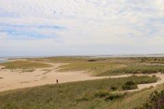 Chatham, пляж трески накидки Стоковая Фотография RF